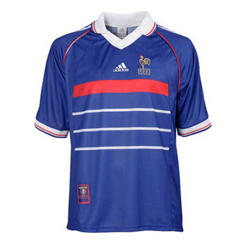 France 1998 Home Retro Cheap Soccer Jerseys