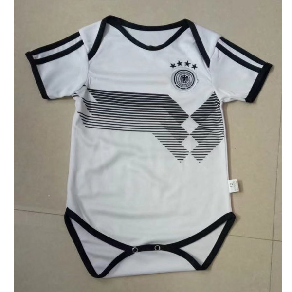 Baby Kids Germany 2018 World Cup Home Soccer Jersey Kit