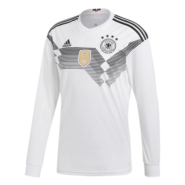 Germany 2018 World Cup Home Long Sleeve Shirt Soccer Shirt