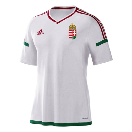 Hungary 2016-17 Away Shirt Soccer Jersey