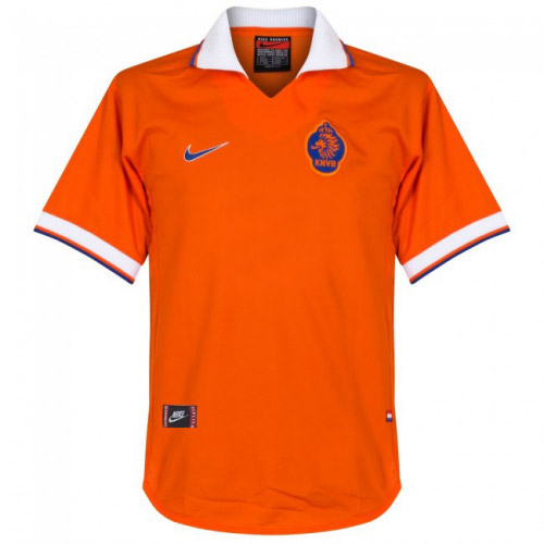 Netherlands 1997/1998 Home Retro Cheap Soccer Jerseys