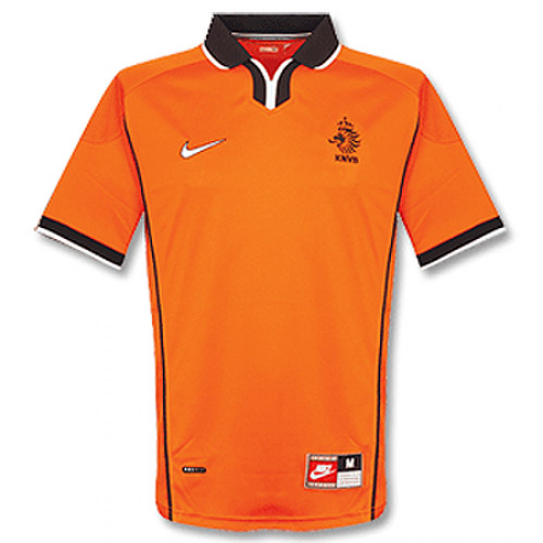 Netherlands 1998/1999 Home Retro Cheap Soccer Jerseys
