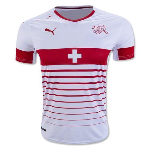 Switzerland 2016-17 Away Shirt Soccer Jersey