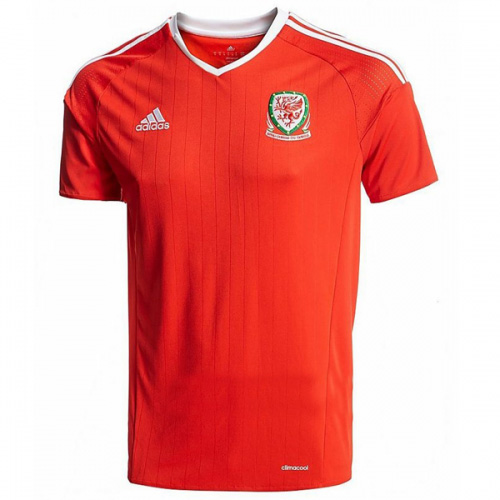 Wales 2016-17 Home Cheap Soccer Jerseys