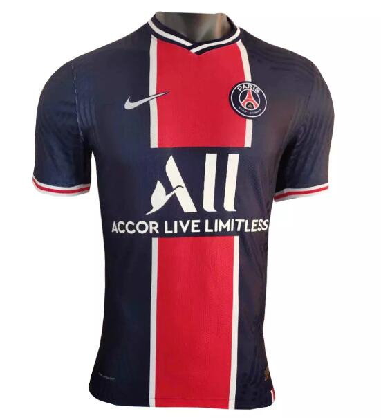 PSG Player Version Soccer Jerseys 2020-21 Home Football Shirts