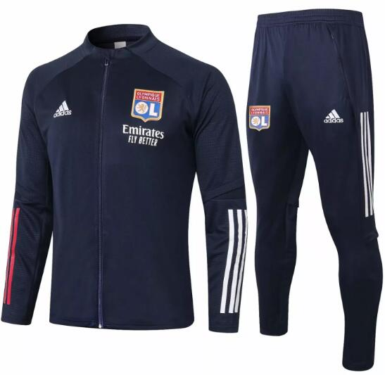 Olympique Lyonnais Training Kits 2020-21 Navy Jacket + Pants