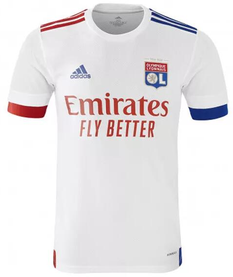 Olympique Lyonnais Soccer Jerseys 2020-21 Home Football Shirts