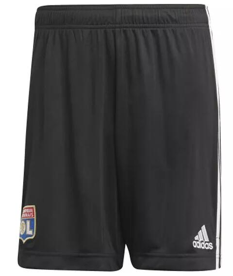 Olympique Lyonnais Soccer Shorts 2020-21 Away Football Pants