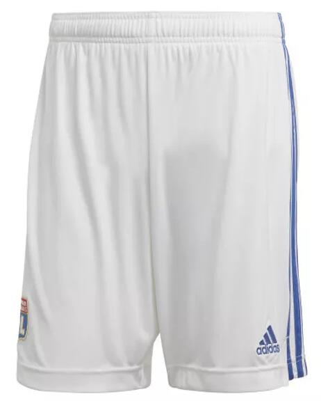 Olympique Lyonnais Soccer Shorts 2020-21 Home Football Pants