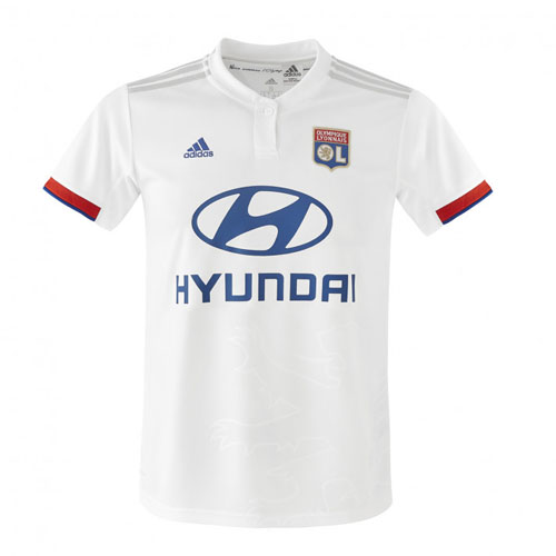 Olympique Lyonnais 19-20 Home White Jerseys Shirt