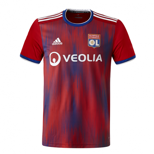 Olympique Lyonnais 19/20 Third Away Red Jerseys Shirt