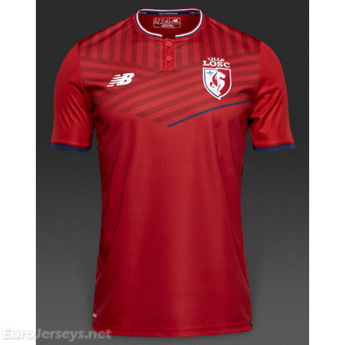 low priced 733c7 2c684 Lille OSC Football Shirts, Lille OSC Soccer Jerseys, Lille ...
