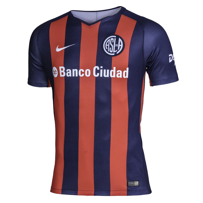 San Lorenzo Soccer Jersey 2018-19 Home Football Shirt