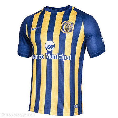 Rosario Central 2017-18 Home Shirt Soccer Jersey