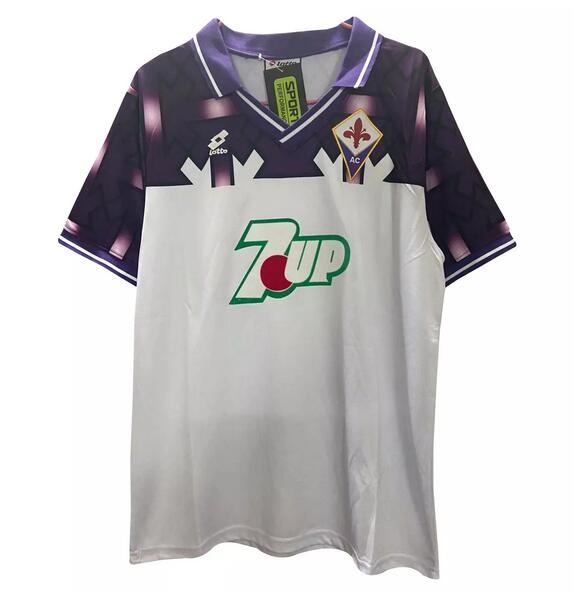 Fiorentina Retro Soccer Jerseys 1992-93 Away Football Shirts