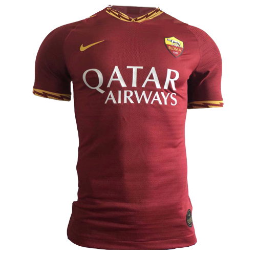 Roma Home Red Soccer Jerseys Shirt(Player Version) 2018-19