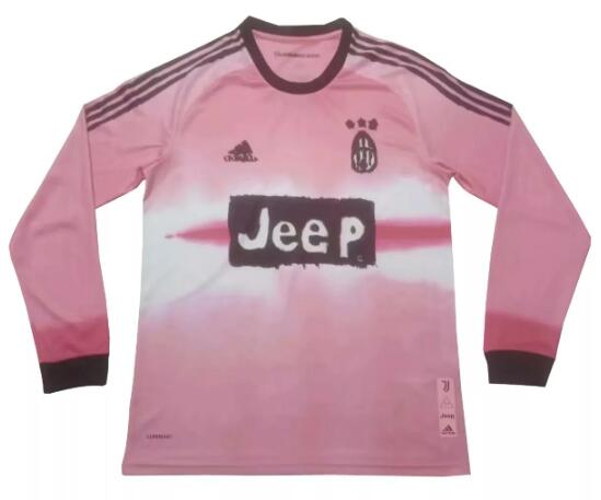 Juventus Long Sleeve Soccer Jerseys 2020-21 Human Race Football Shirts