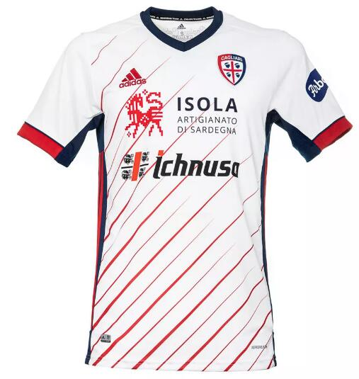 Cagliari Calcio Soccer Jerseys 2020-21 Away Football Shirts