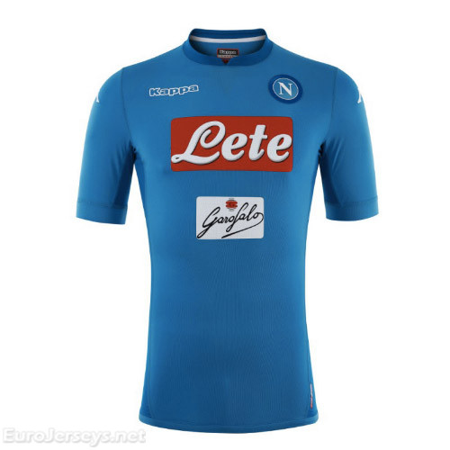 Napoli 2017-18 Home Shirt Soccer Jersey