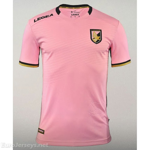 Palermo Home Best Wholesale Football Kit 2017-18 Cheap Soccer Jerseys