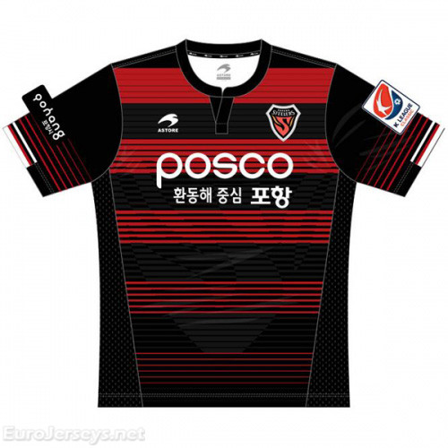 Pohang Steelers Home Best Wholesale Football Kit 2017-18 Cheap Soccer Jerseys