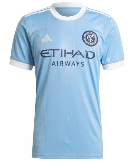 New York City Soccer Jerseys 2021-22 Home Football Shirts