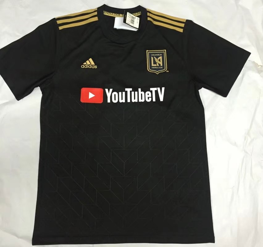 Los Angeles FC Soccer Jersey 2018-19 Away Football Shirt