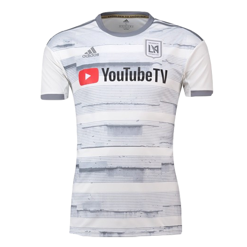 Los Angeles FC 2019 Away White Soccer Jerseys Shirt