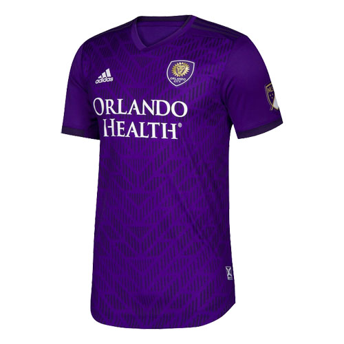 2019 Player Version Orlando City Home Purple Soccer Jerseys Shirt