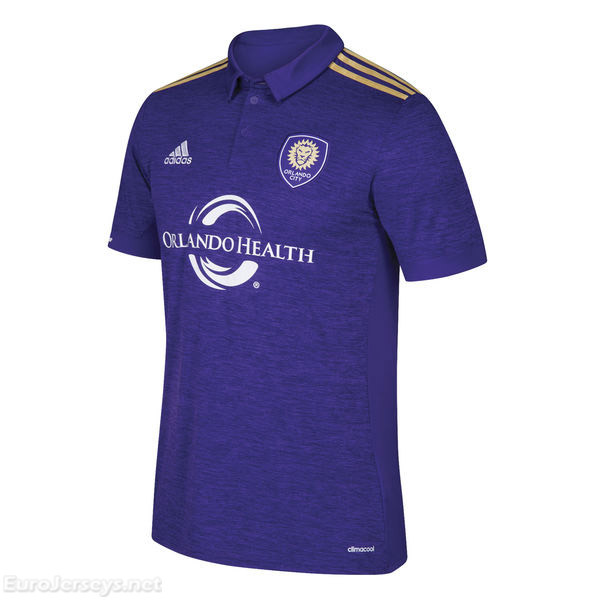 Orlando City SC 2017-18 Home Shirt Soccer Jersey