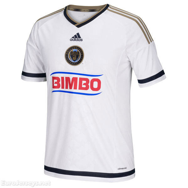 Philadelphia Union 2017-18 Away Shirt Soccer Jersey