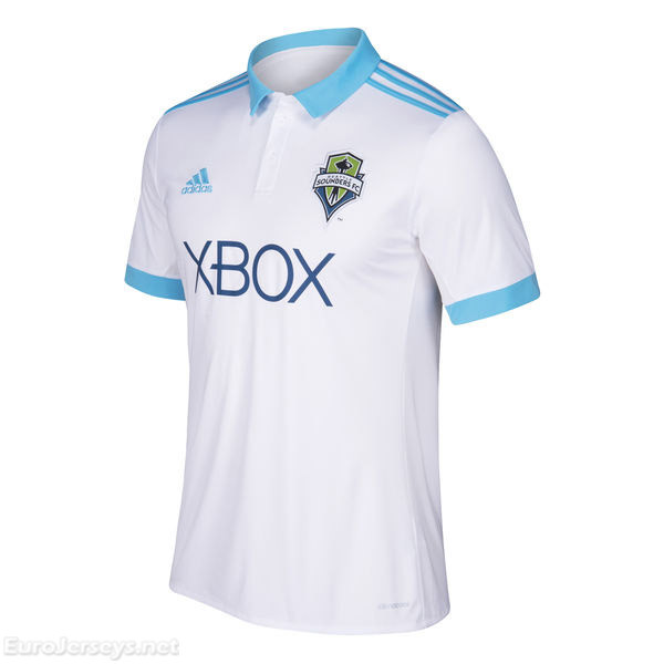 Seattle Sounders FC 2017-18 Away Shirt Soccer Jersey