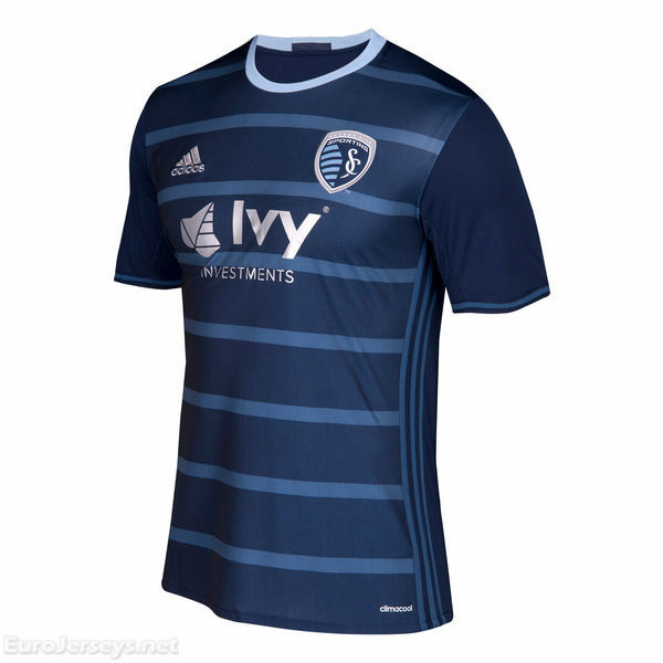 Sporting Kansas City 2017-18 Away Shirt Soccer Jersey
