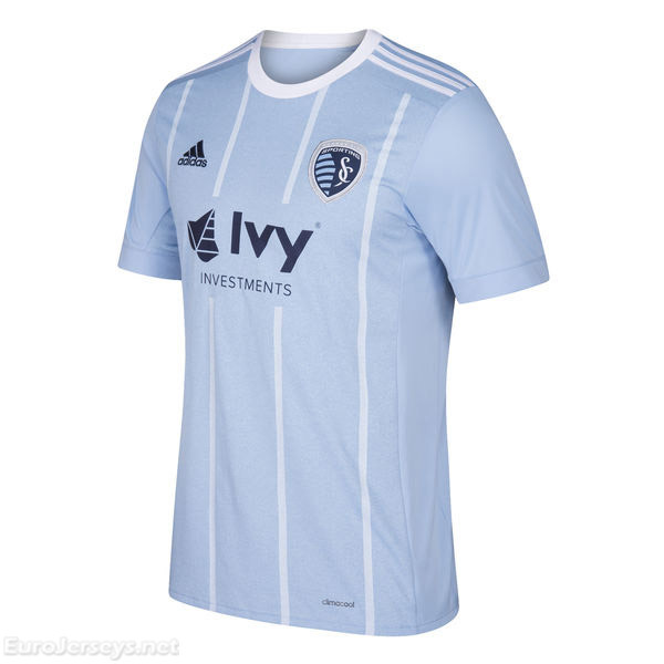 Sporting Kansas City 2017-18 Home Shirt Soccer Jersey