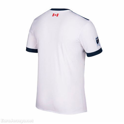 Vancouver Whitecaps FC 2017-18 Home Shirt Soccer Jersey
