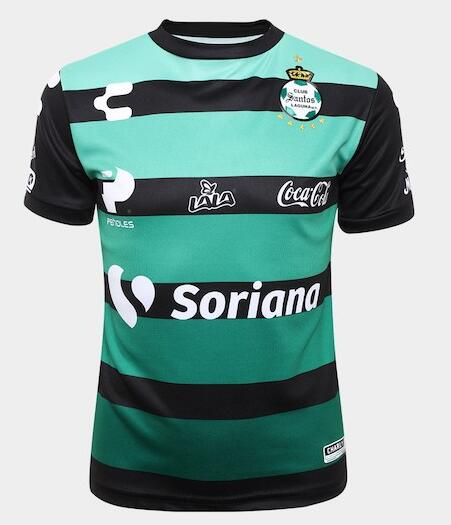 Santos Laguna Soccer Jerseys 2018-19 Away Football Shirts