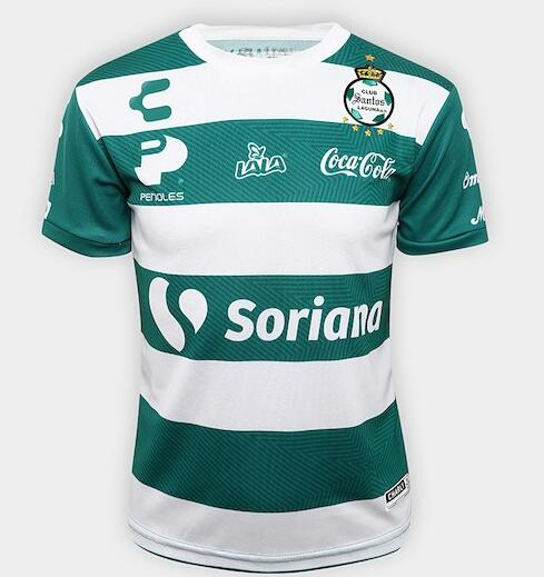 Santos Laguna Soccer Jerseys 2018-19 Home Football Shirts