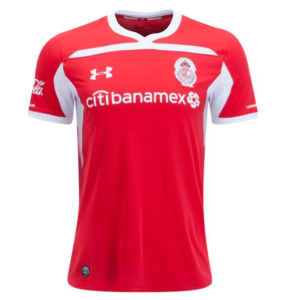 Deportivo Toluca FC Soccer Jerseys 2018-19 Home Football Shirts