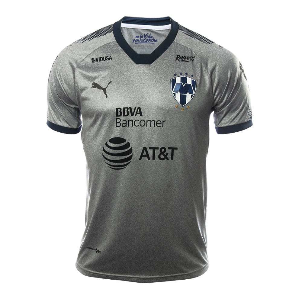 Monterrey Soccer Jerseys 2017-18 Grey Football Shirts