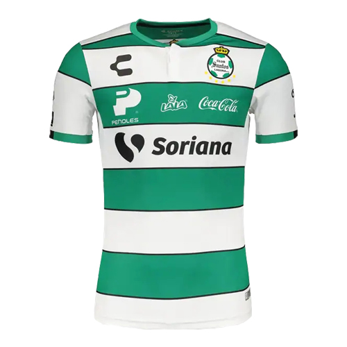 Santos Laguna 19/20 Home Green&White Soccer Jerseys Shirt