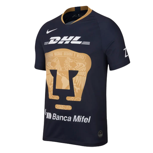 UNAM Pumas Third Away Black Soccer Jerseys Shirt 2019