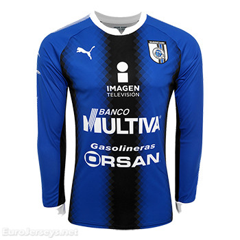Queretaro 2017-18 Home Long Sleeved Shirt Soccer Jersey