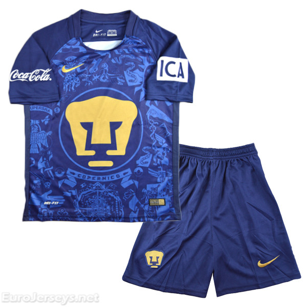 UNAM 2016-17 Away Kids Kit Children Shirt And Shorts
