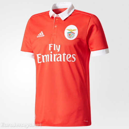 Benfica Home Best Wholesale Football Kit 2017-18 Cheap Soccer Jerseys