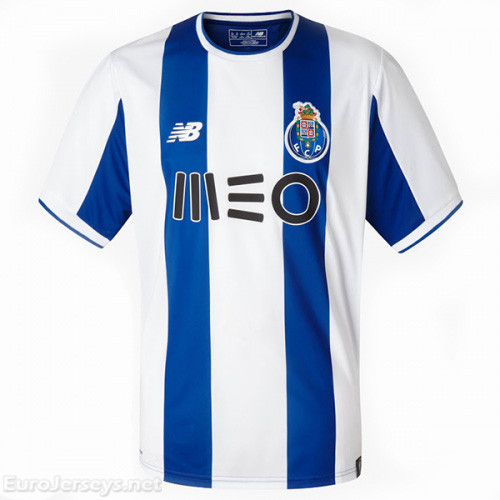 FC Porto Home Best Wholesale Football Kit 2017-18 Cheap Soccer Jerseys