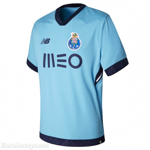 FC Porto 3rd Best Wholesale Football Kit 2017-18 Cheap Soccer Jerseys