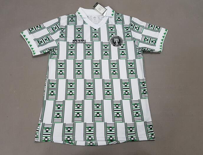 Nigeria Soccer Jerseys 1994 Retro Football Shirts
