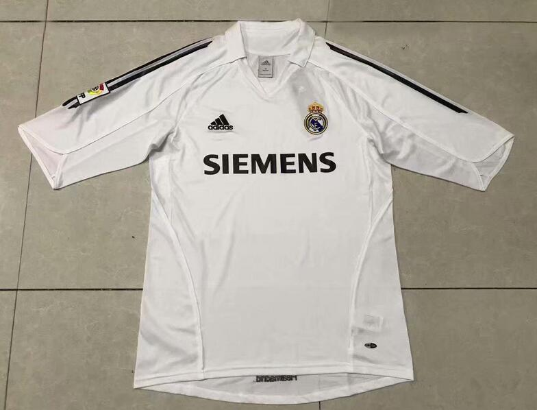 Real Madrid Retro Soccer Jerseys 2006 Home Football Shirts