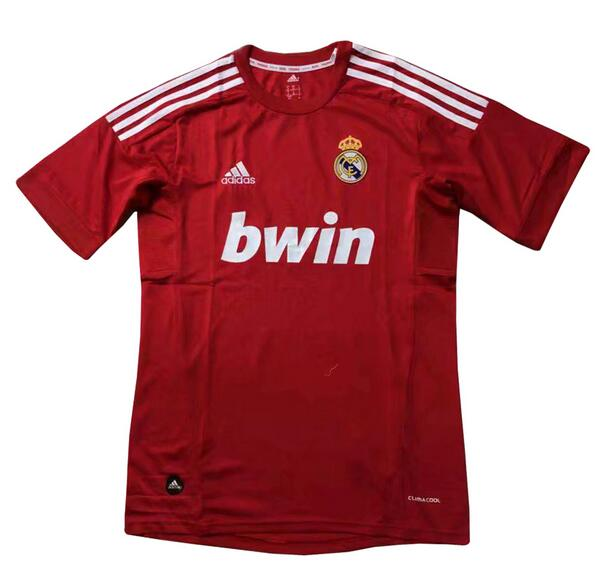Real Madrid Retro Soccer Jerseys 2012 Red Football Shirts