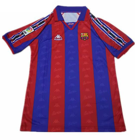 Barcelona 1996-97 Home Retro Cheap Soccer Jerseys
